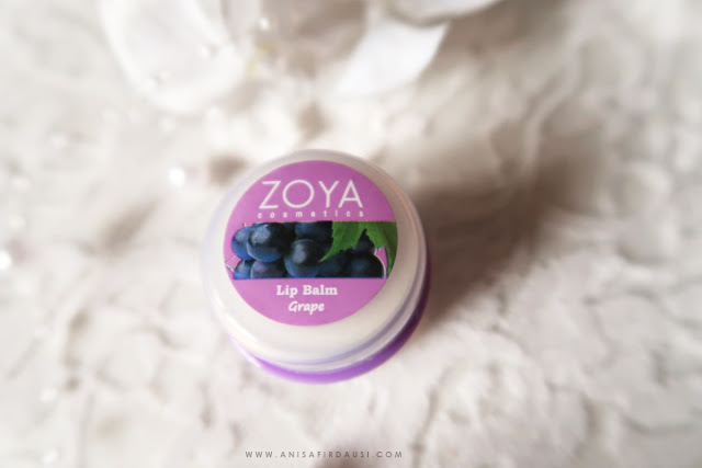 Review Zoya Lip Balm Grape Anisa Firdausi