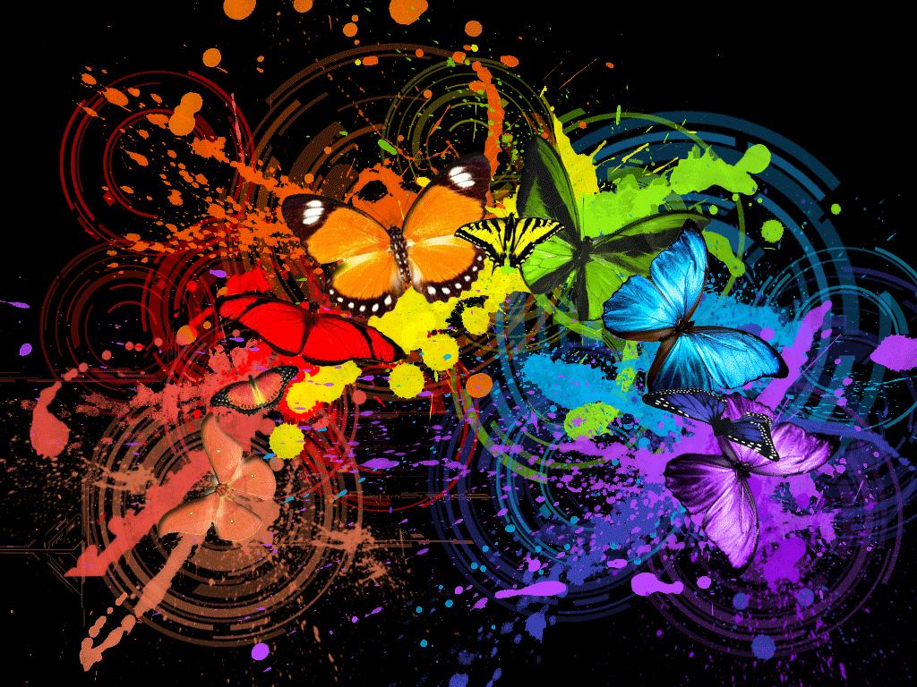 Butterfly Wallpaper Rainbow Butterfly Wallpaper Hd: Dreama: Butterflies