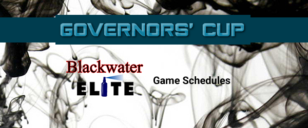 List of Blackwater Elite Match Schedules 2017 PBA Governors' Cup