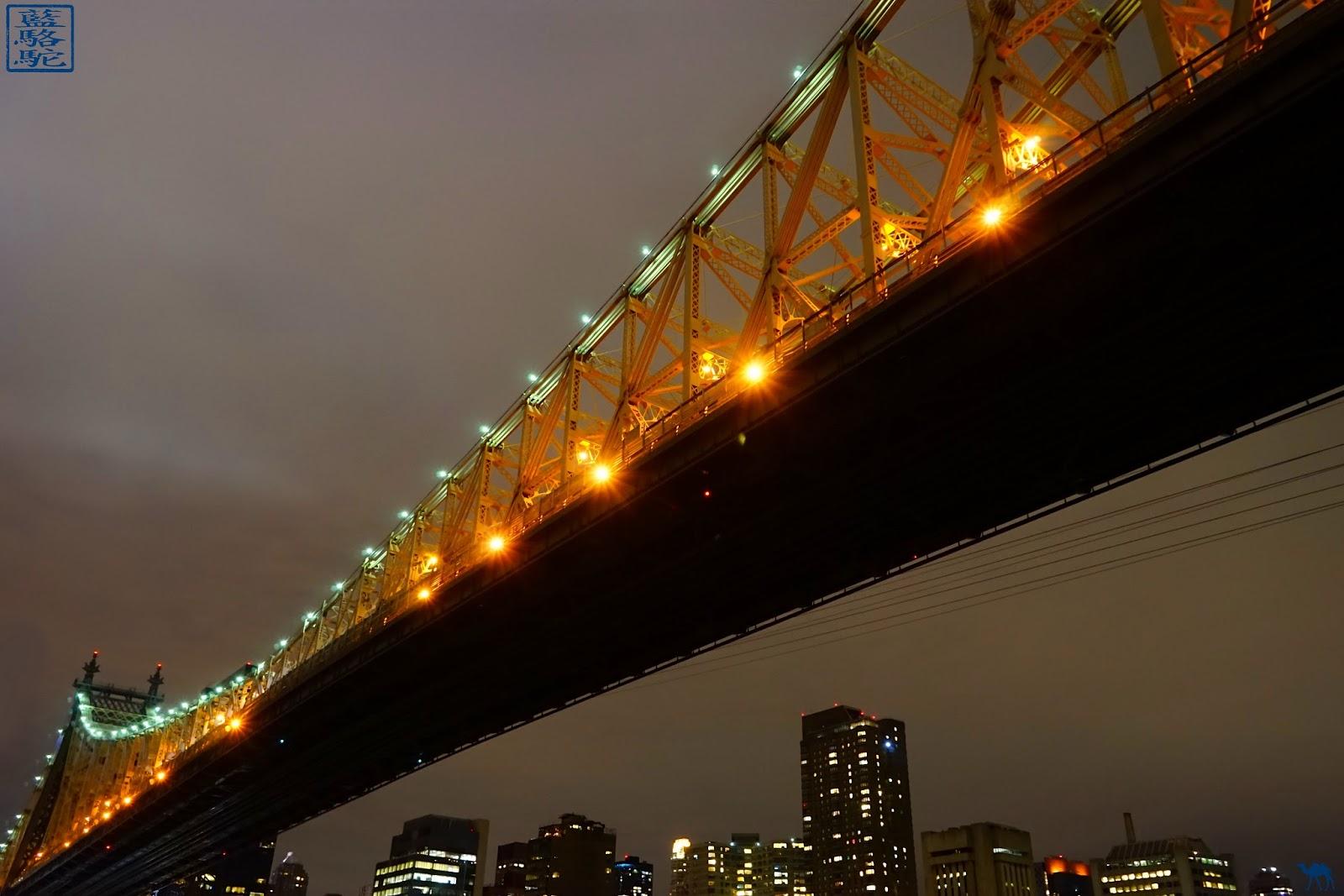 Le Chameau Bleu - Blog Voyage New York City - New York - Pont de Queensboro