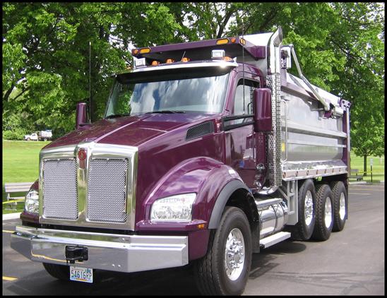 Kenworth T880 Dump Truck