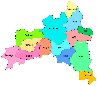 Doğu Anadolu Gezilecek Yerler