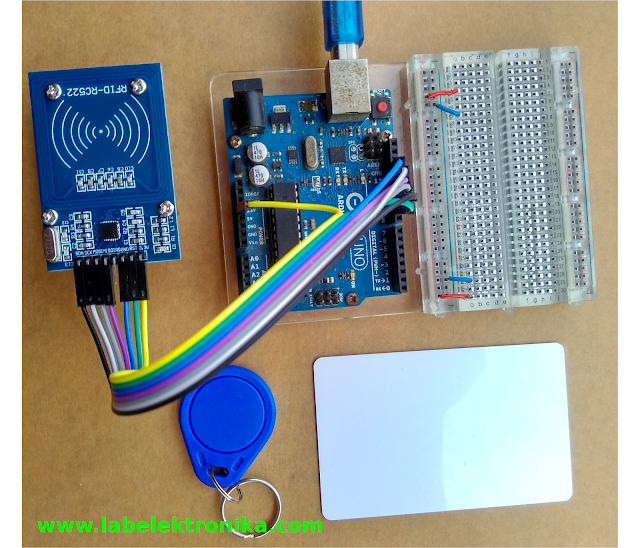 TUTORIAL PROGRAM RFID READER MIFARE RC522 MODULE  MENGGUNAKAN ARDUINO
