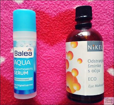 Balea aqua serum, Nikel odstranjivac sminke oko ociju