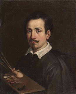 Guido Reni: a self-portrait executed in about 1603, currently in the Palazzo Barberini in Rome