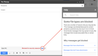 Gmail Plans To Block Javascript (.js) File Attachment Soon - See Date