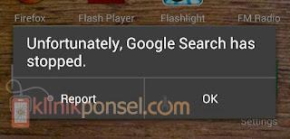 """Cara Mengatasi """"Google Penelusuran Terhenti"""" di Android"""