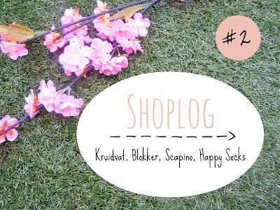 Shoplog #2 ♥ Kruidvat, Scapino, Blokker, Happy Socks