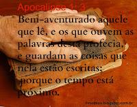 Apocalipse 1: 3 Versículo comentado e explicado.
