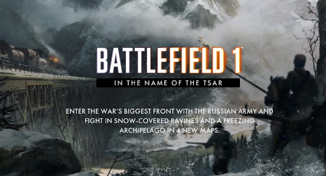 Battlefield 1 presenta su mayor contenido In the name of the tsar