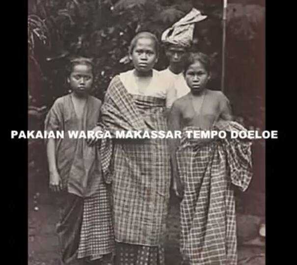 Pakaian Warga Makassar Tempo Doeloe