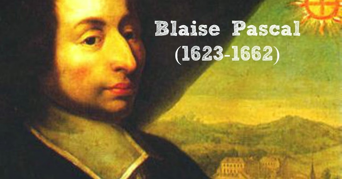 the life and history of blaise If you ever been in a casino and played a roulette wheel, you placed a gamble on an instrument that has origins with the mathematician blaise pascal.
