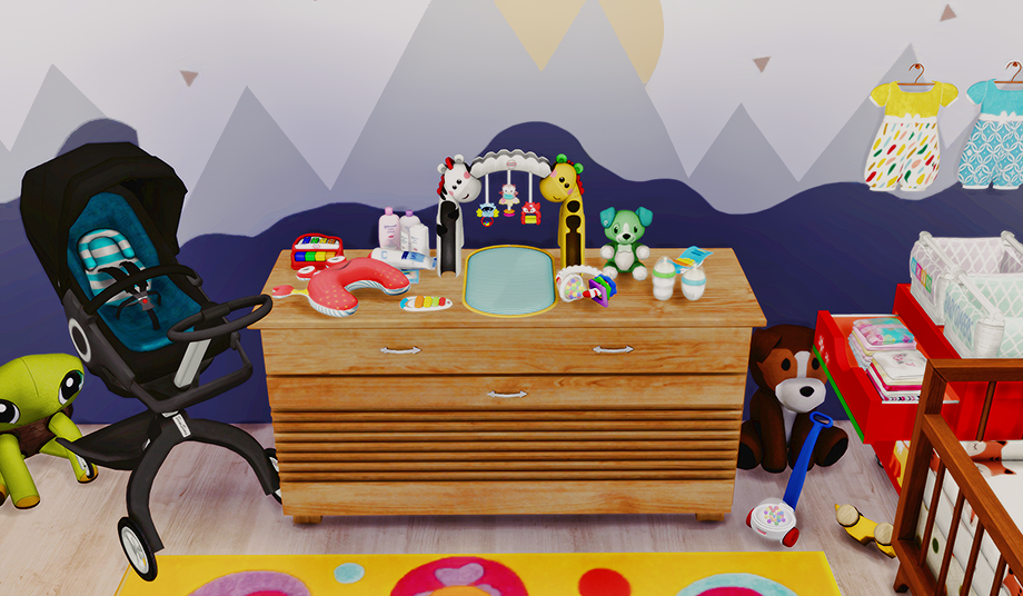 My Sims 4 Blog Nursery Clutter By Dreamteamsims