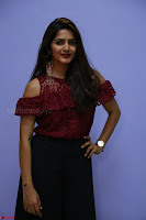 Pavani Gangireddy in Cute Black Skirt Maroon Top at 9 Movie Teaser Launch 5th May 2017  Exclusive 059.JPG