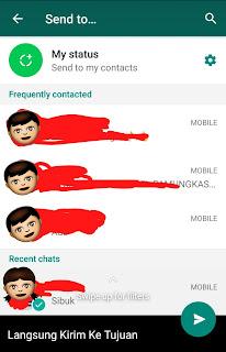 Cara Membuat Pesan Kosong Pada WhatsApp Terbaru 2018 5