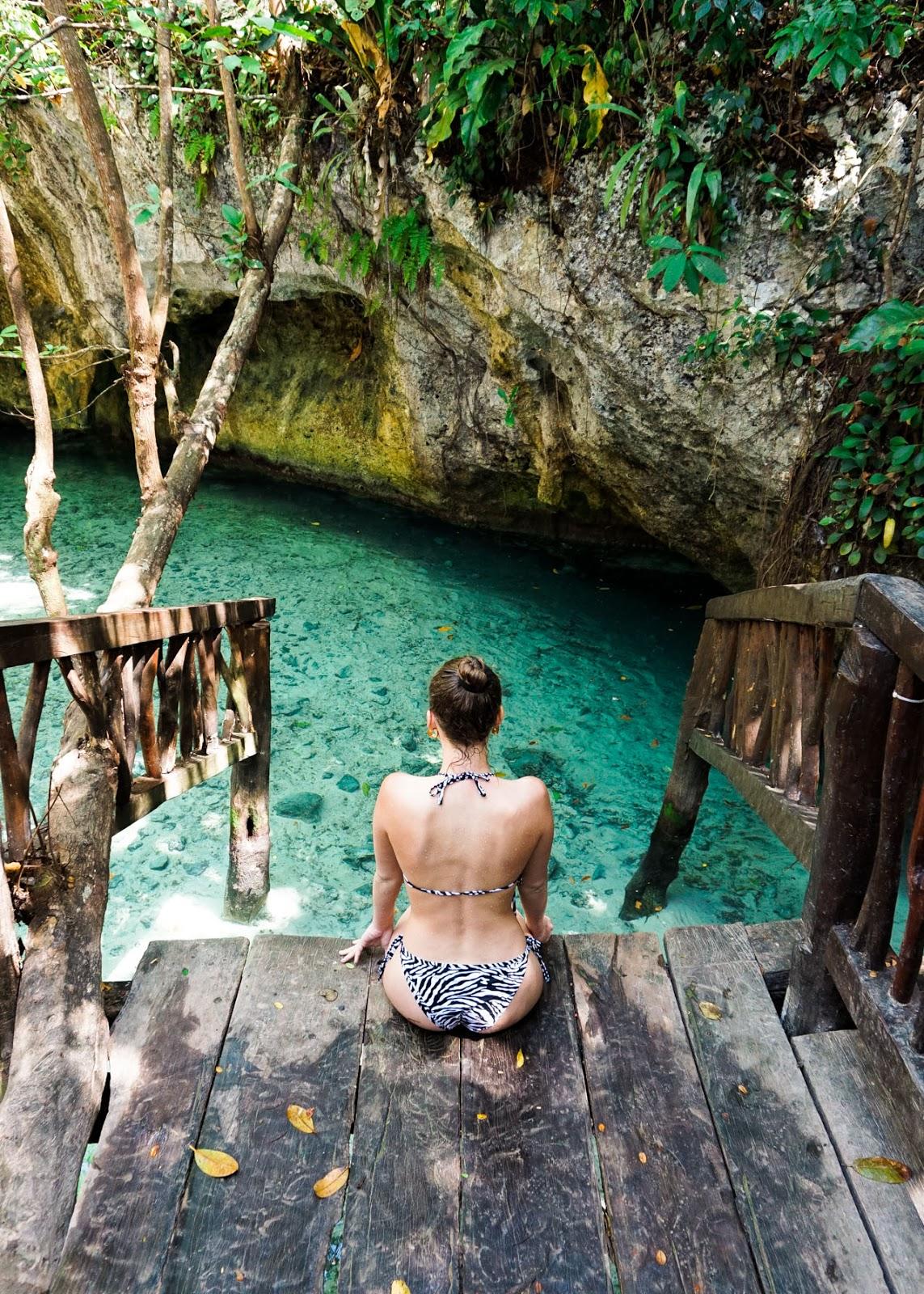 El Gran Cenote - Mexico - Tulum - Living Abroad - Bikini Beach Life - Travel