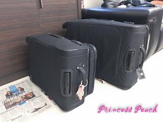 回美行李打包中
