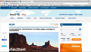 Conseils de voyage dans l'Ouest américain