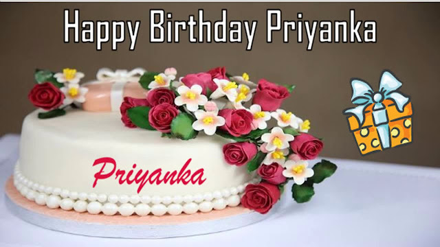 Happy Birthday Priyanka Images