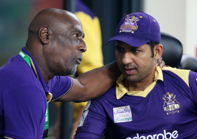 Viv Richards Quetta Gladiators