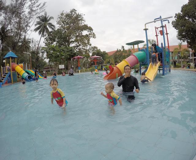 De Rhu Resort, Kuantan Pahang - Family Day Kelab Blogger Ben Ashaari (KBBA)