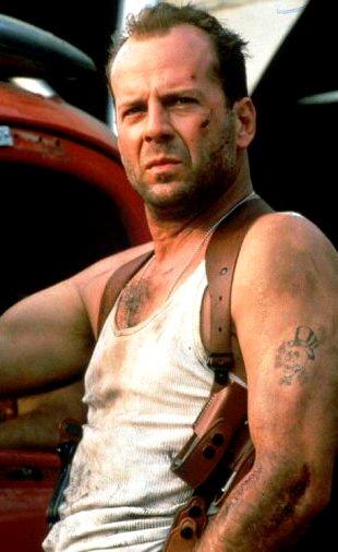 Foto de Bruce Willis en una de sus películas