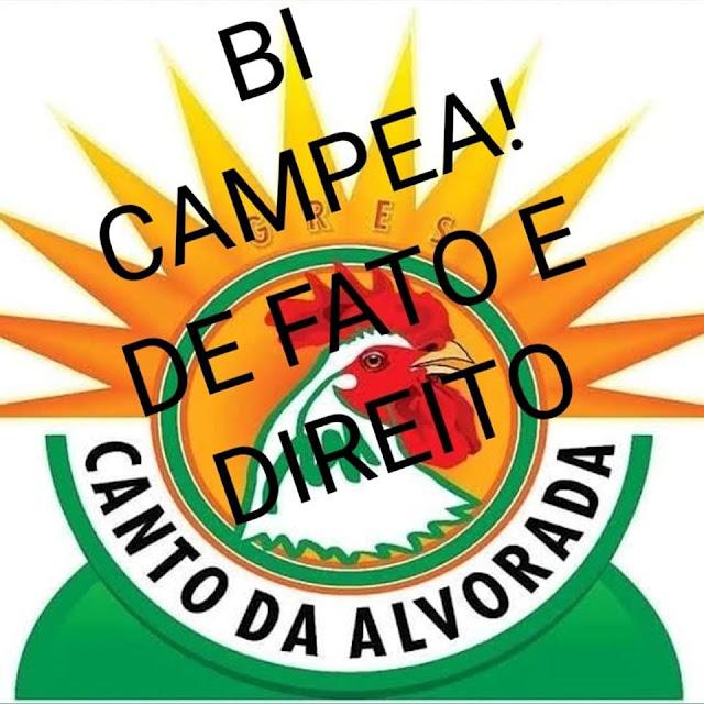 Oficial, Canto da Alvorada é a campeã do carnaval de BH/2018