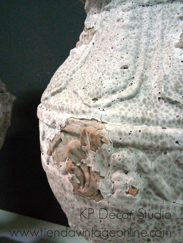 Comprar jarrones de terracota antigua en valencia