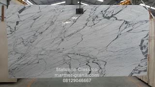 Marmer Statuario Classico, Legenda Marmer Italy