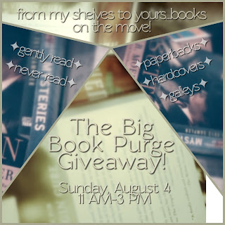 The Big Book Purge Giveaway announcement