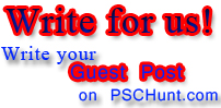 guest post blogger - pschunt.com