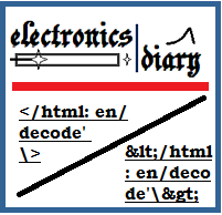 decode and encode html online