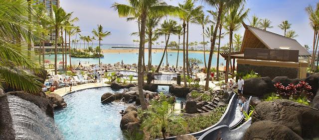 США Гавайи Гонолулу Отель Hilton Hawaiian Village Waikiki Beach Resort