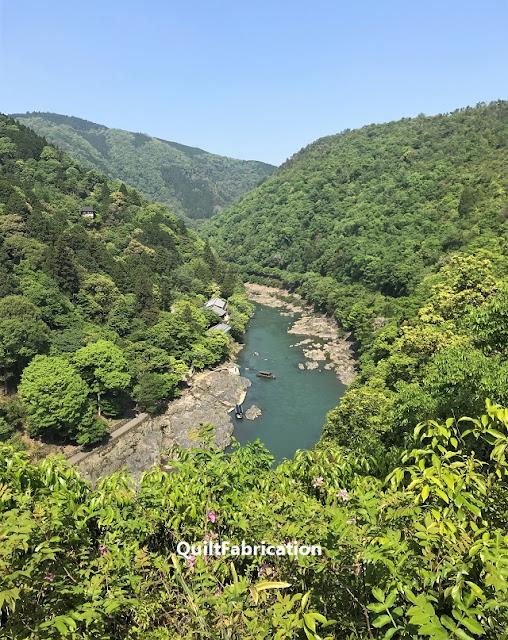 Katsura River Kyoto Japan