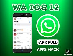 Whatsapp estilo IOS 12 Para ANDROID 2019