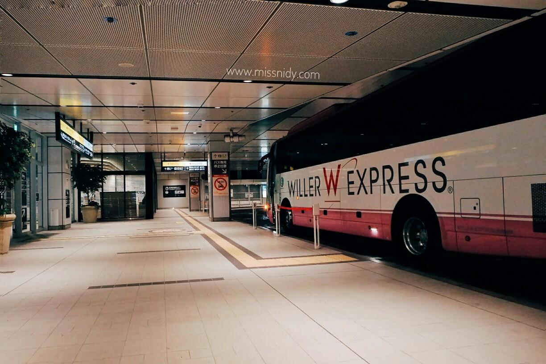 travelling hemat di jepang dengan willer bus