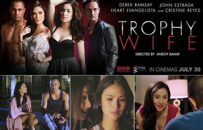 Watch Trophy Wife Official Movie Trailer Review by Viva Films