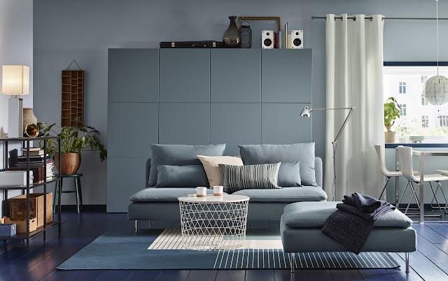 Cara Menata Ruang Keluarga Dengan Produk IKEA
