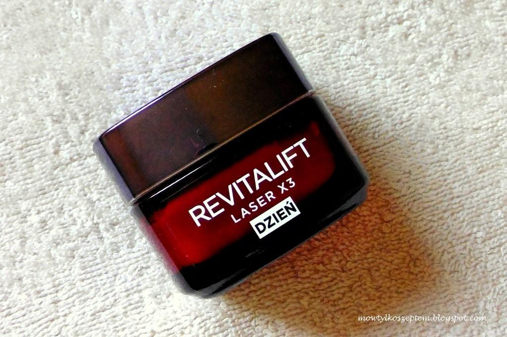 loreal revitalift laser x3, revitalift krem pod oczy, laser x3 krem na dzien