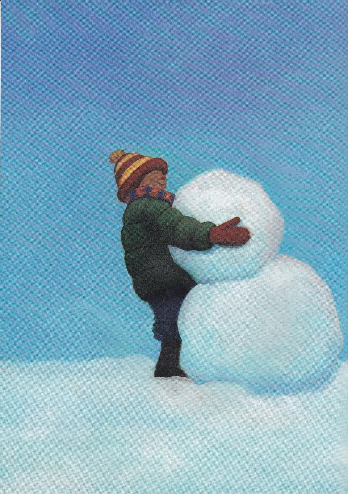 Metamora Community Preschool Snowmen At Night