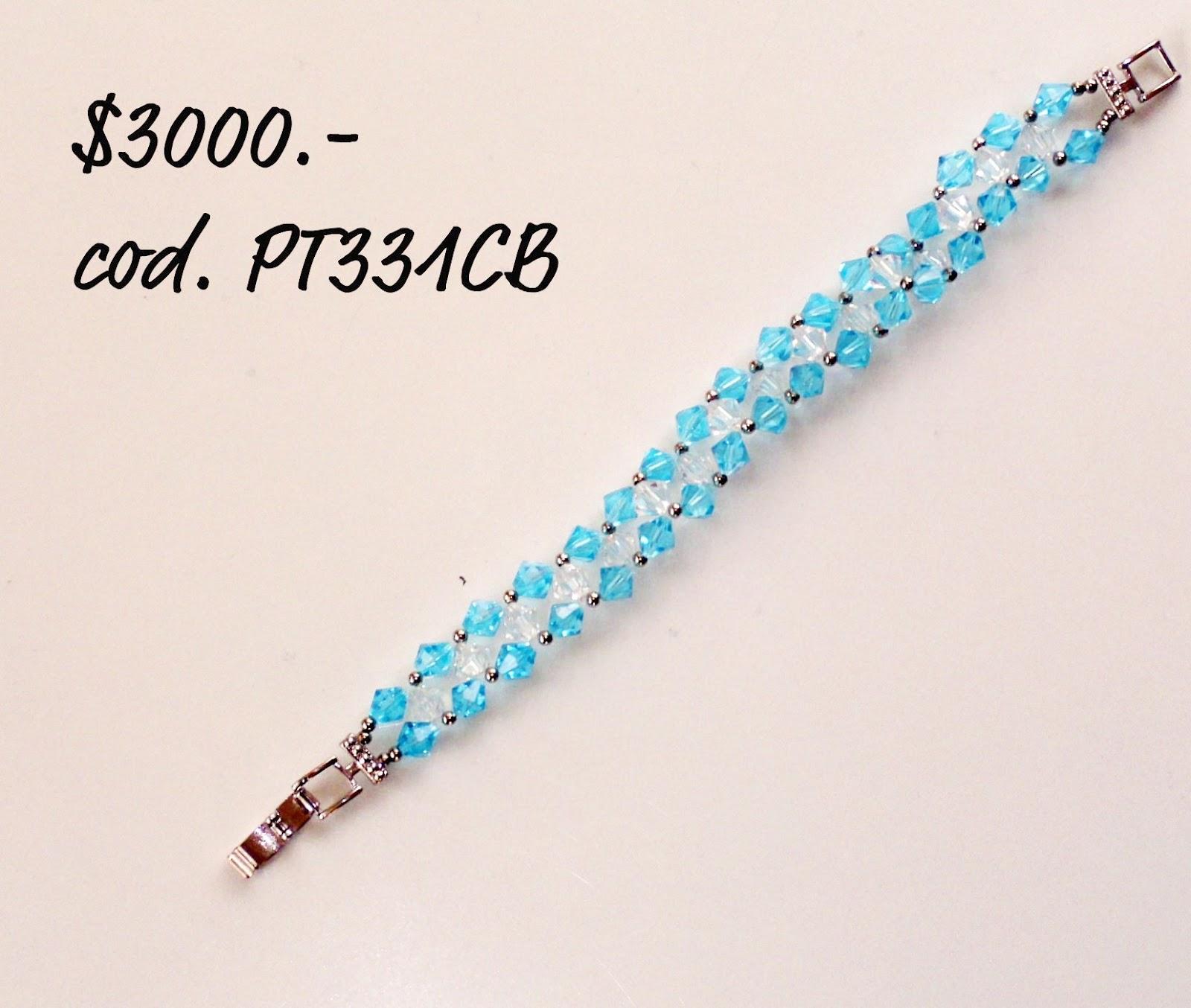 704842808d9b Stilos online  Catálogo  Pulseras tejidas con cristales