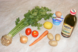 ingrediente supa crema de peste, legume si condimente pentru supa crema, retete culinare,
