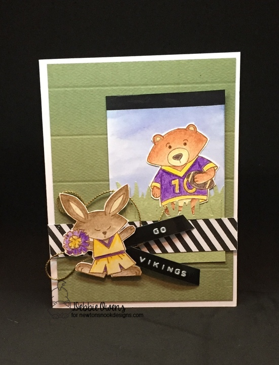 Go Vikings by Debbie features Touchdown Tails by Newton's Nook Designs; #newtonsnook