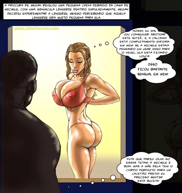 Mais hentai - O namorado da filha rebelde