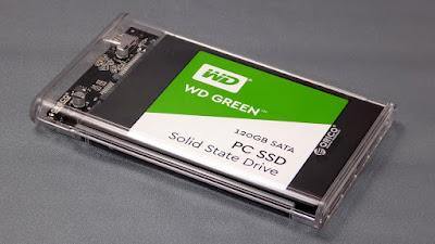 HDDを入れたところ
