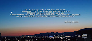 Anthony Bourdain Travel Quote