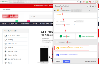 [SOLVED]: Same Web Property ID Is Tracked Twice | Google Tag Manager | Magento 2