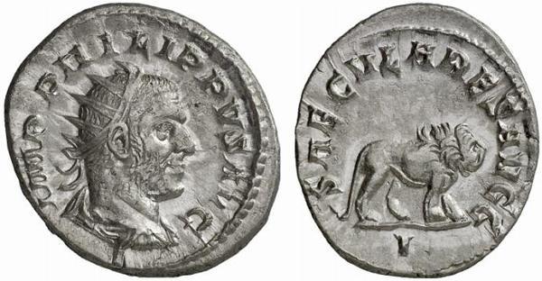 Antoniniano de Filipo I