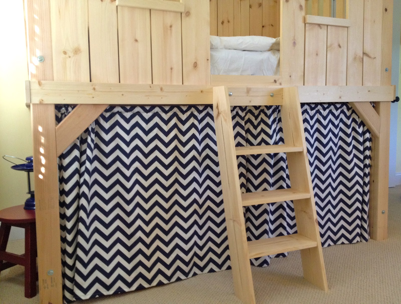 Diy Clubhouse Bed For Kids Jaime Costiglio
