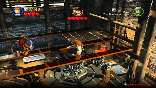 Lego Pirates of the Caribbean Gameplay Screenshot 4